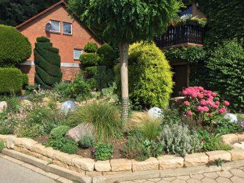 GaLa-Bau, Anlage eines Vorgartens, Garten und Landschaftsbau