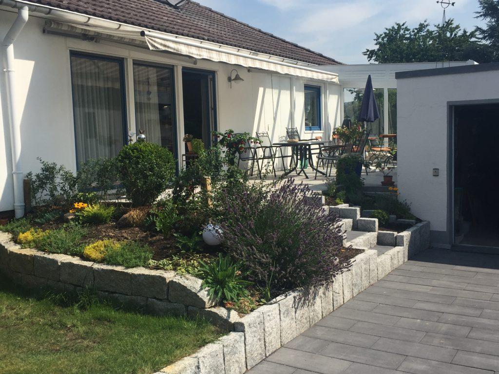 Terrassenanlage inkl Beetfasssung